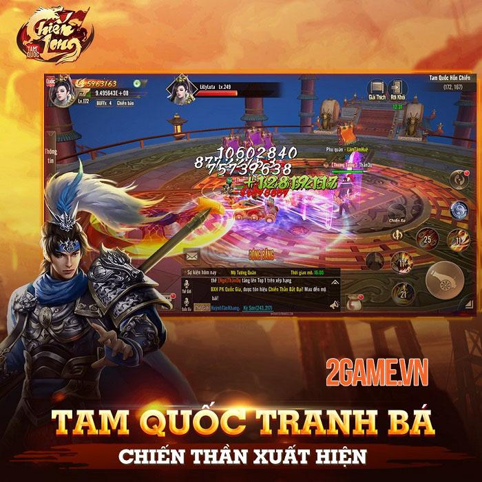 Chiến Long Tam Quốc - Game nhập vai sở hữu các chiến trường đặc sắc bậc nhất 3