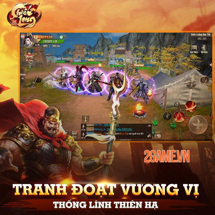 Chiến Long Tam Quốc - Game nhập vai sở hữu các chiến trường đặc sắc bậc nhất 4