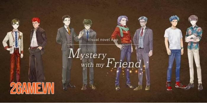 Mystery With My Friend - Game otome xoay quanh thế giới LGBTQ+ đầy ý nghĩa 0