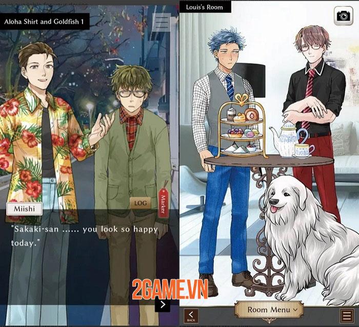 Mystery With My Friend - Game otome xoay quanh thế giới LGBTQ+ đầy ý nghĩa 2