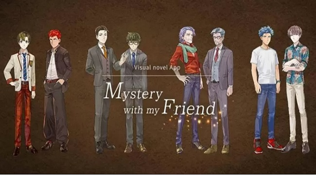 Mystery With My Friend – Game otome xoay quanh thế giới LGBTQ+ đầy ý nghĩa