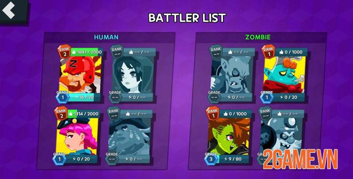 Battle Live: Zombie vs Human - cuộc chiến sinh tồn vui nhộn trên mobile 2