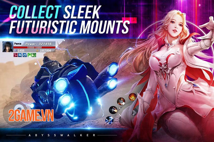Abysswalker - Game nhập vai phong cách cyperpunk UE4 tuyệt đẹp 2