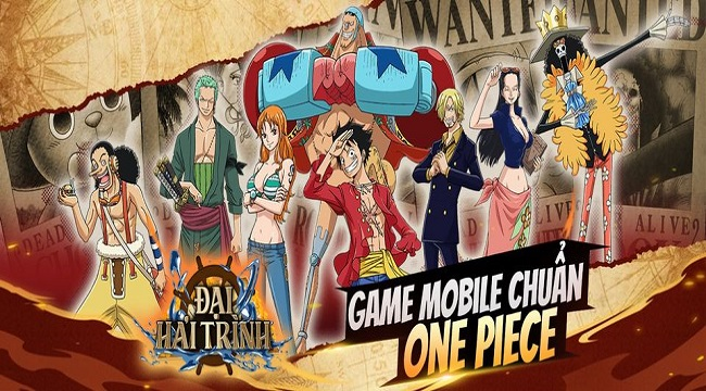 Đại Hải Trình Mobile – Cuộc phiêu lưu bất tận cùng dàn nhân vật chuẩn One Piece
