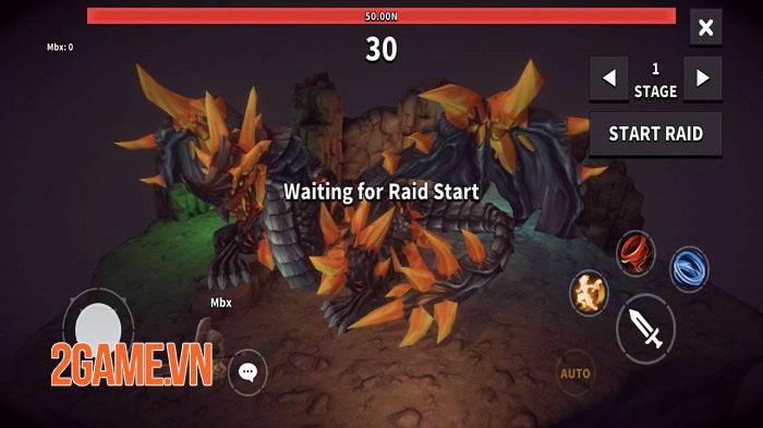 Dungeon Knight - Game Idle 3D đương đầu với những thách thức vô hạn 3
