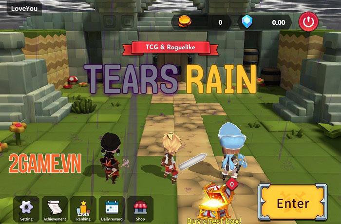TEARS RAIN - Game TCG kết hợp Roguelike với những cuộc chiến thú vị 0