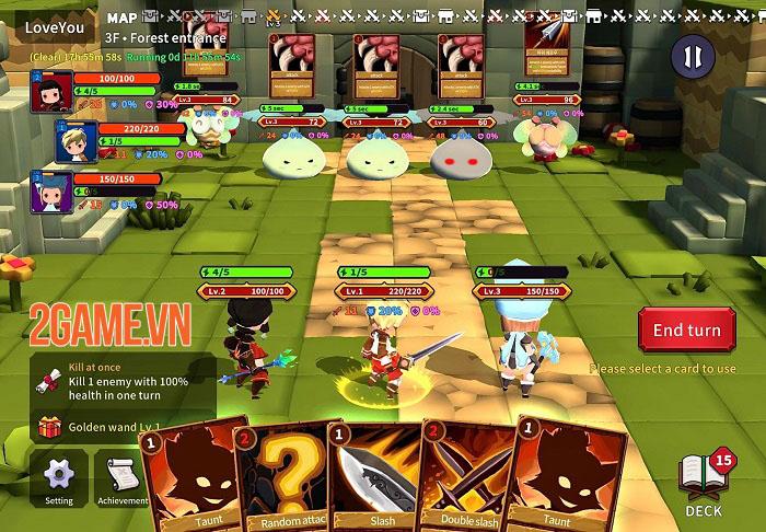 TEARS RAIN - Game TCG kết hợp Roguelike với những cuộc chiến thú vị 2