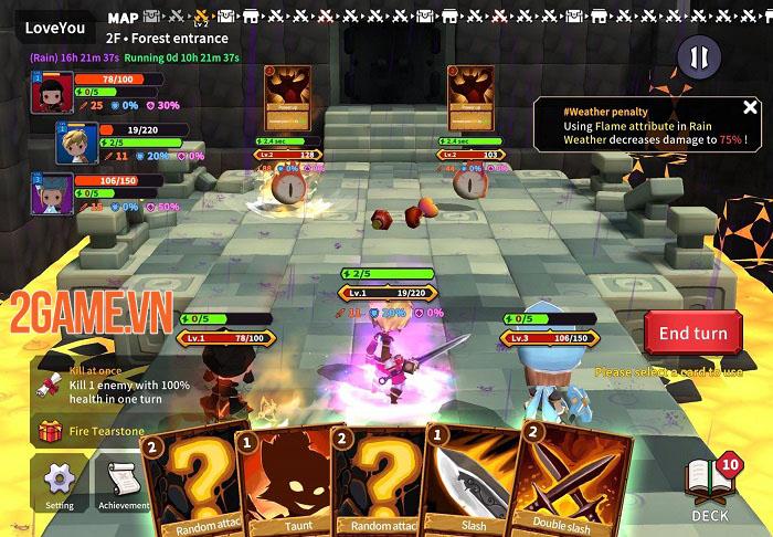 TEARS RAIN - Game TCG kết hợp Roguelike với những cuộc chiến thú vị 3
