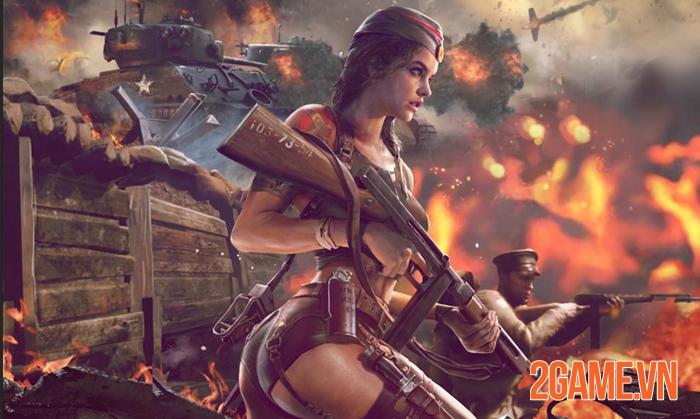 Kiss of War - Trải nghiệm chiến tranh thế giới thứ 2 qua góc nhìn gợi cảm 2