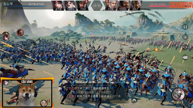 Epic War Thrones: Game chiến thuật tam quốc đồ họa siêu khủng sắp có Tiếng Việt