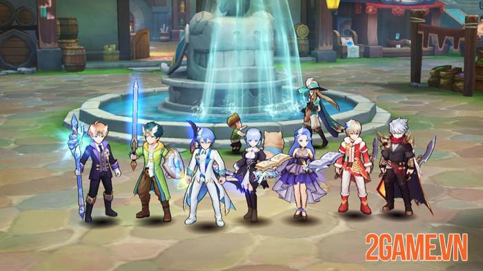 Guardians of Cloudia - Game phiêu lưu cùng waifu chính thức ra mắt 0