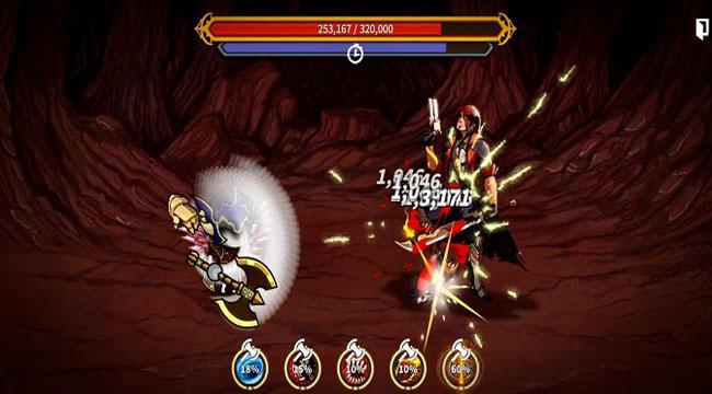 Overgeared RPG – Game nhập vai lối chơi đơn giản nhưng cuốn hút kì lạ