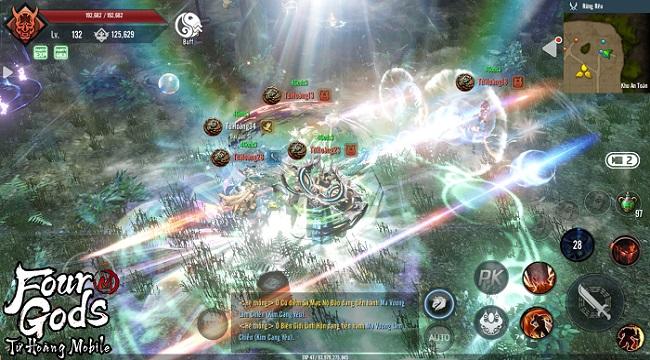 Four Gods M – Tứ Hoàng Mobile: Game nhập vai đồ họa 4K đẹp nhất năm 2021