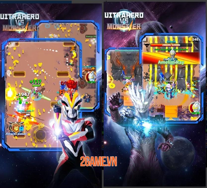 Ultrahero vs monsters: Game nhập vai hành động kết hợp hàng trăm kĩ năng 0