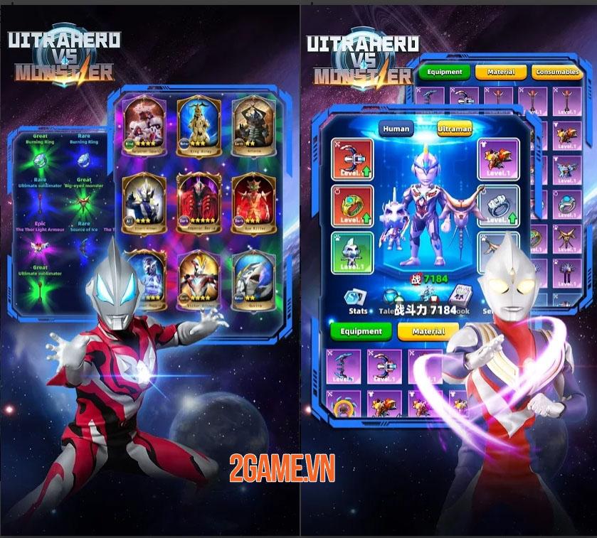 Ultrahero vs monsters: Game nhập vai hành động kết hợp hàng trăm kĩ năng 1