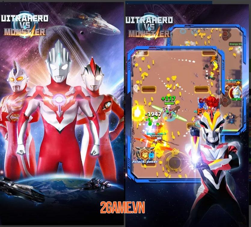 Ultrahero vs monsters: Game nhập vai hành động kết hợp hàng trăm kĩ năng 2