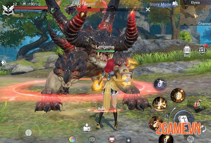 Forsaken World Mobile - Tuyệt phẩm nhập vai chuẩn bị ra mắt game thủ 0