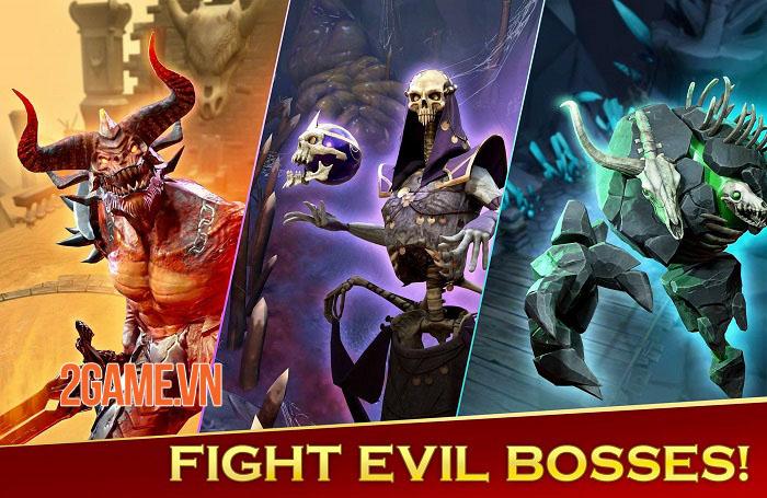 BlitZ: Rise of Heroes - Game Idle RPG màn hình dọc với 6 vị trí chiến đấu 3