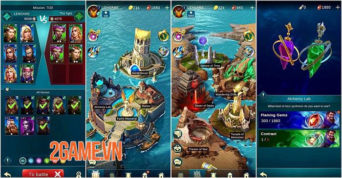 BlitZ: Rise of Heroes - Game Idle RPG màn hình dọc với 6 vị trí chiến đấu 0