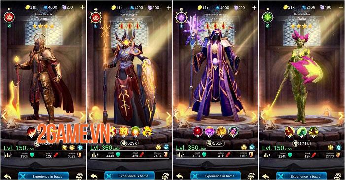 BlitZ: Rise of Heroes - Game Idle RPG màn hình dọc với 6 vị trí chiến đấu 2