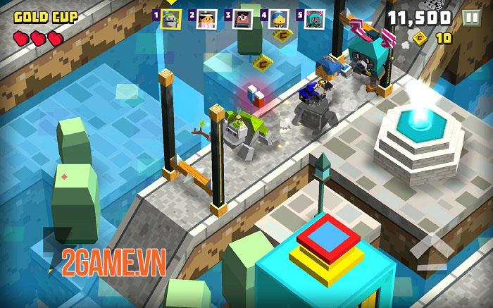 Cubie Adventure World - Một bầu trời đáng yêu với lối chơi nhập vai một chạm 3