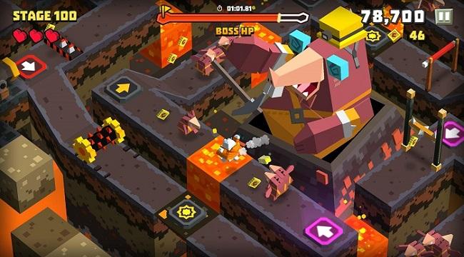 Cubie Adventure World – Một bầu trời đáng yêu với lối chơi nhập vai một chạm