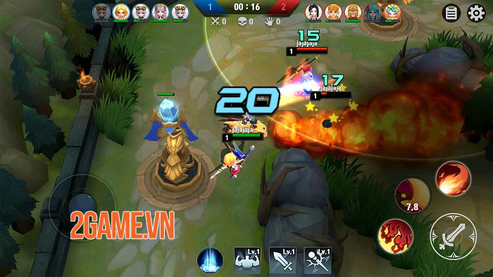 Masters Battle League 5v5 - Game MOBA sở hữu nhiều nét độc đáo hiếm có 1