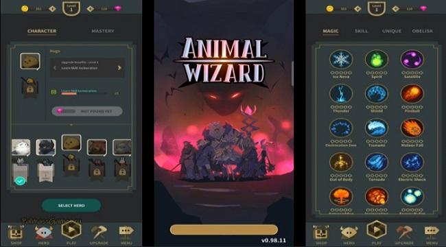 Animal Wizard – Hành trình đánh thức vị cứu tinh của Xứ sở thần tiên