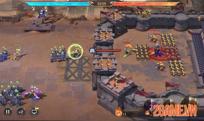 Legend of Golden Generals Mobile - Đỉnh cao chiến thuật 16 tướng 2