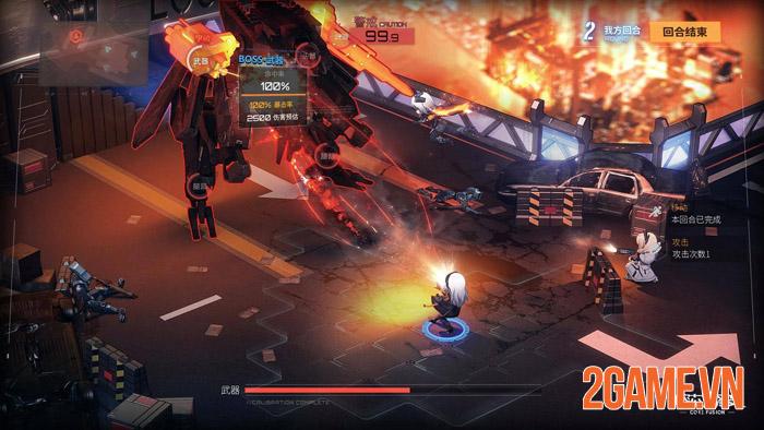 Core Fusion - Dự án game khủng mang âm hưởng Girl's Frontline 4