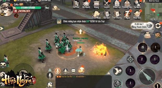 Game kiếm hiệp mới nhất Hiệp Nghĩa Giang Hồ Mobile chốt ngày ra mắt 2