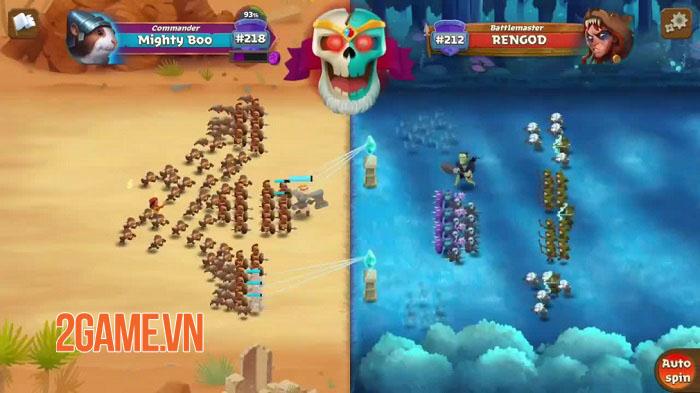 Battle Legion - Game PVP tự động với các trận chiến 100vs100 hoành tráng 0