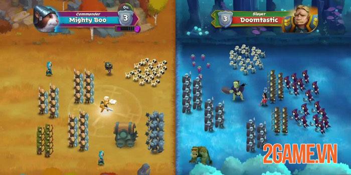 Battle Legion - Game PVP tự động với các trận chiến 100vs100 hoành tráng 1