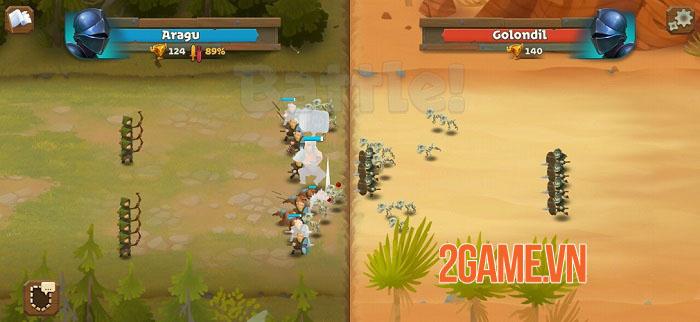 Battle Legion - Game PVP tự động với các trận chiến 100vs100 hoành tráng 2