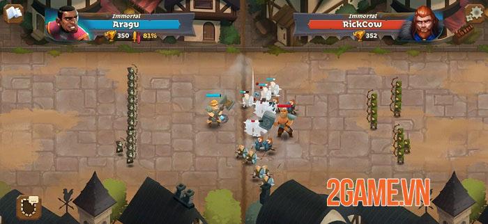 Battle Legion - Game PVP tự động với các trận chiến 100vs100 hoành tráng 3
