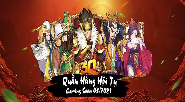 Bách Chiến 3Q – Game đấu tướng chiến thuật phong cách mới ra mắt tháng 3/2021