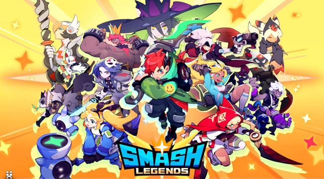Game thủ phát cuồng khi Smash Legends Mobile chính thức ra mắt