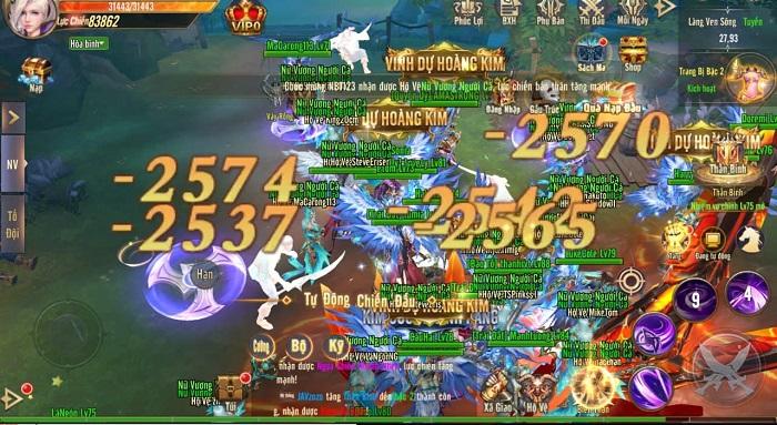 Tặng 500 giftcode game Vương Thần Mobile mừng ra mắt 1