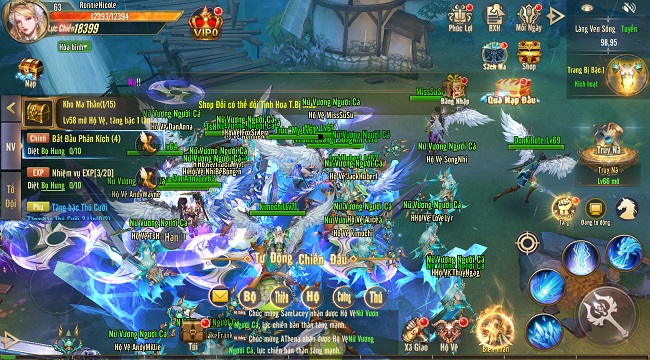 Tặng 500 giftcode game Vương Thần Mobile mừng ra mắt