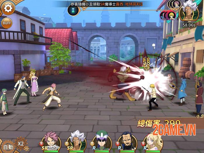 Fairy Tail: Endless Adventure chính thức ra mắt game thủ 3