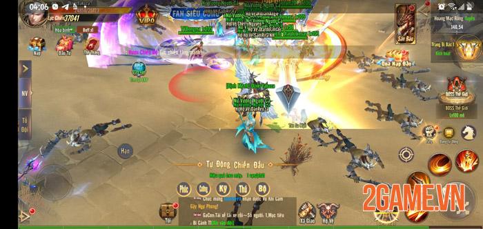 Trải nghiệm sự hoành tráng trong ngày đầu ra mắt Vương Thần Mobile 3