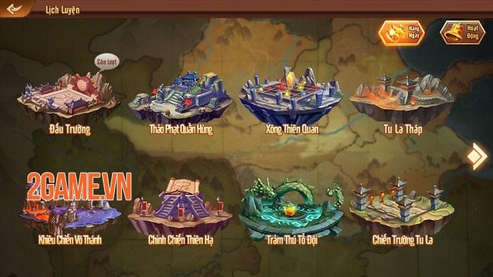 Long Tướng 3Q - Game nhập vai thẻ bài đầu tiên trang bị thú cưỡi cho các tướng 3
