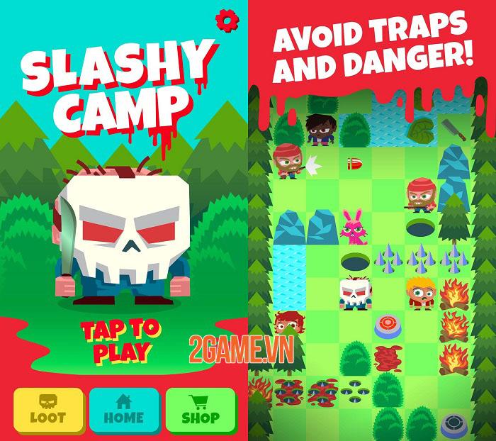 Slashy Camp - Game chạy vô tận lấy cảm hứng từ các bộ phim về kẻ sát nhân 0