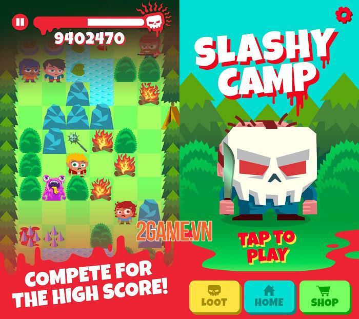 Slashy Camp - Game chạy vô tận lấy cảm hứng từ các bộ phim về kẻ sát nhân 2