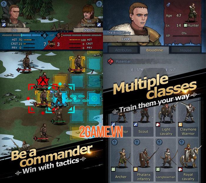 Knights of Ages - Game mobile hardcore bối cảnh trung cổ châu Âu 1