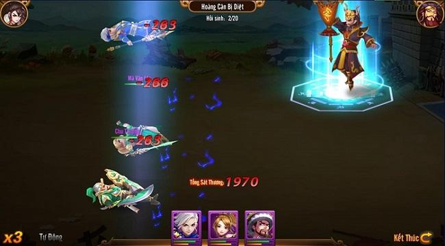 Long Tướng 3Q là game mobile giúp bớt nhàm chán vì nghỉ dịch Covid 19 quá dài