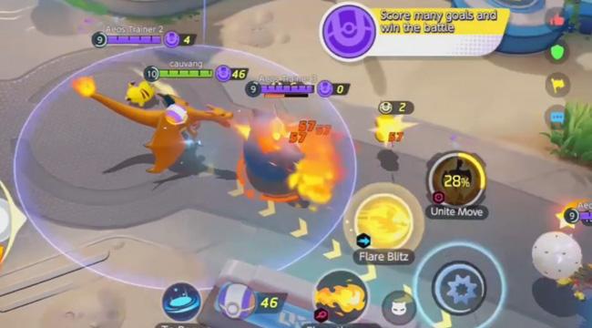 Cảm nhận Pokémon Unite: Game MOBA kết hợp Pokémon siêu thú vị, Tướng tiến hóa theo cấp độ