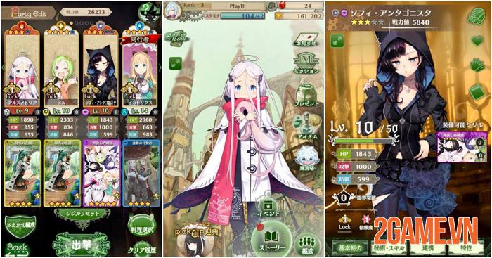 Warau Ars Notoria - Game nhập vai cute lạc lối chính thức ra mắt ở Nhật 1