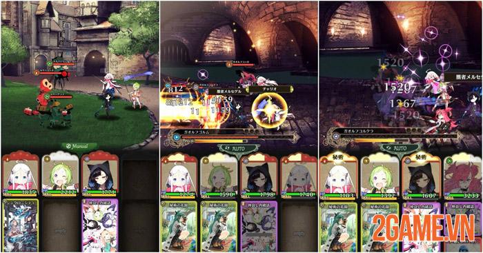 Warau Ars Notoria - Game nhập vai cute lạc lối chính thức ra mắt ở Nhật 3