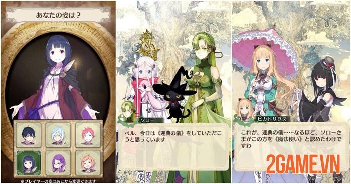 Warau Ars Notoria - Game nhập vai cute lạc lối chính thức ra mắt ở Nhật 2